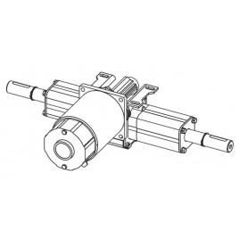 Мотор привода с редуктором 150 Вт 24 В для Columbus RA 40BM